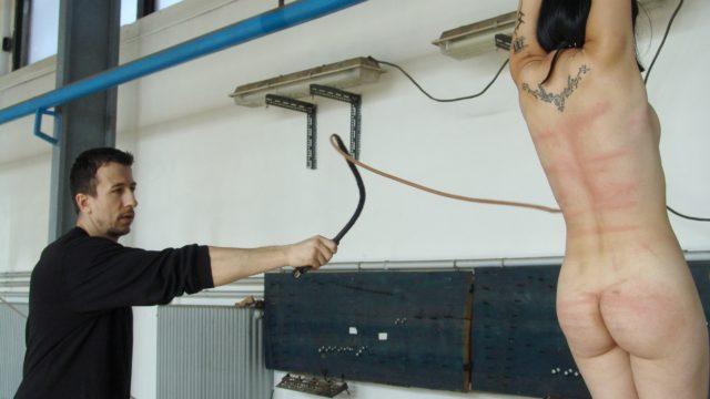 Alexa Suffers Flagellating & Nip Torture For Smoking
