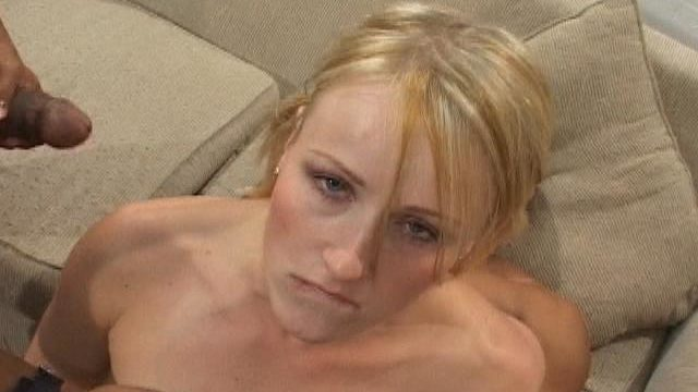 Supreme Ash-blonde Fuckslut Sharon Will Get Penetrated Via 2 Ample Cocks