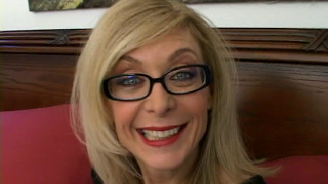 Sweety Blondie Grandma In Glasses Nina Hartley Conversing Messy Within The Bed Room
