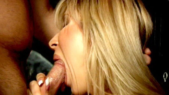 Horny Platinum-blonde Charmer Morgan Ray Smoking With Zeal And Blowing A Huge Salami