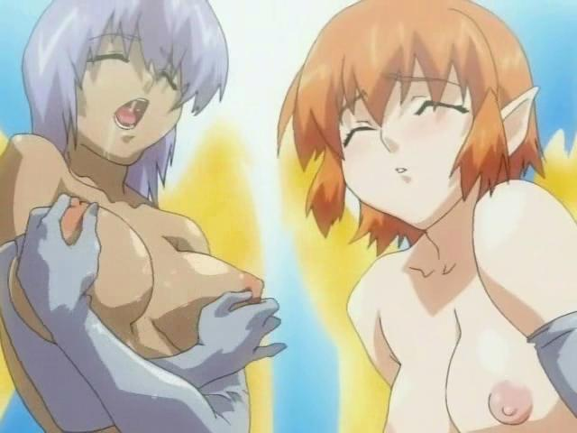 2 Crazy Anime Porn Trannies Pawing Their Extraordinaire Udders