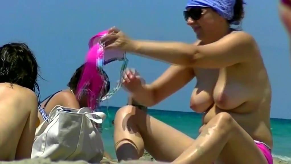 Secret Agent Seaside Mature Swimsuit On Swimsuit Off Ginormous Tits Compilation