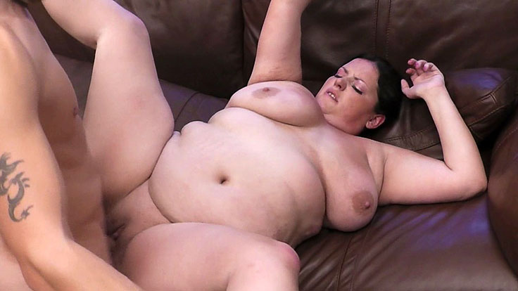 Bbw Hotty Snapped And Plumbed