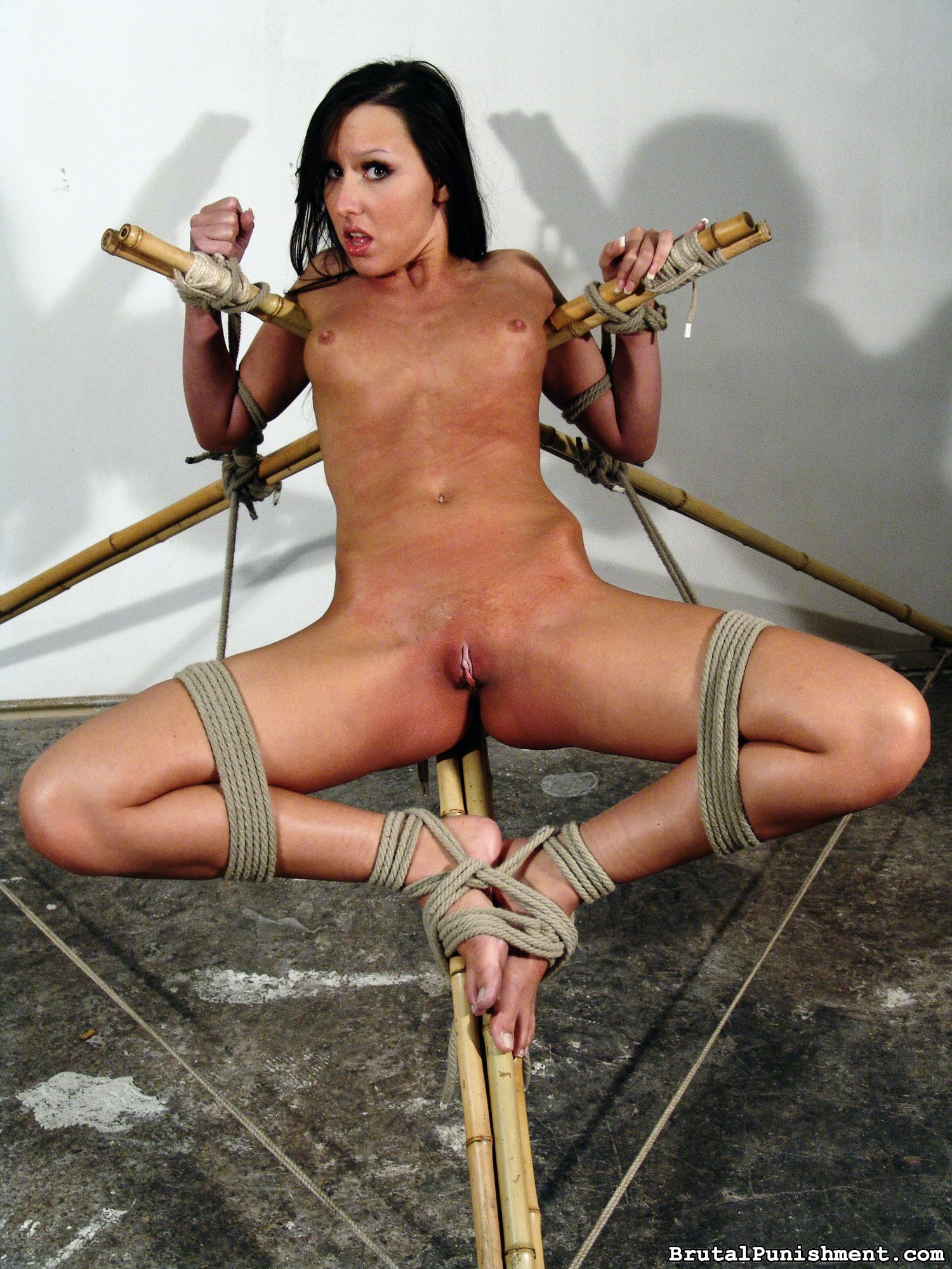 Ultra-kinky Anguish Fuckslut Nicole Suffers Every Other Restrain Bondage Consultation