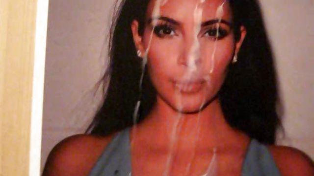 Kim Kardashian Jizzed