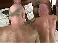 Without A Condom Hairy Man Dad Gang-bang