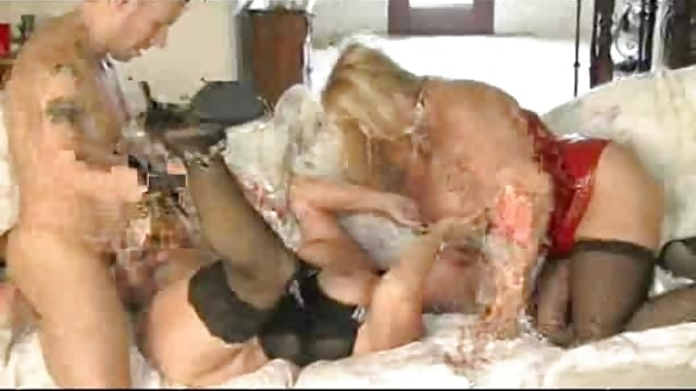 Super-hot Mature Milfs Pounce On Fortunate Fellow