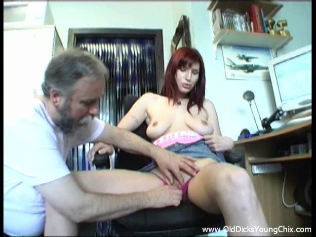 Older Man Tears Up Nubile