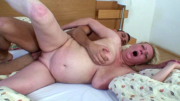 Moist Grandmother Snatch Nailed Stiff
