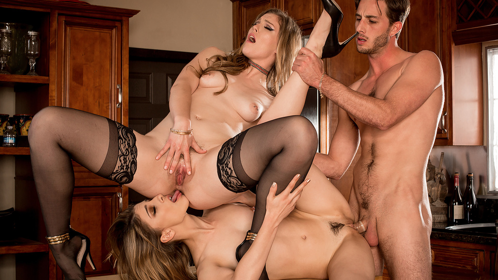 Ella Nova & Kristen Scott In My Step-brother's Gf, Gig Four – Depraved