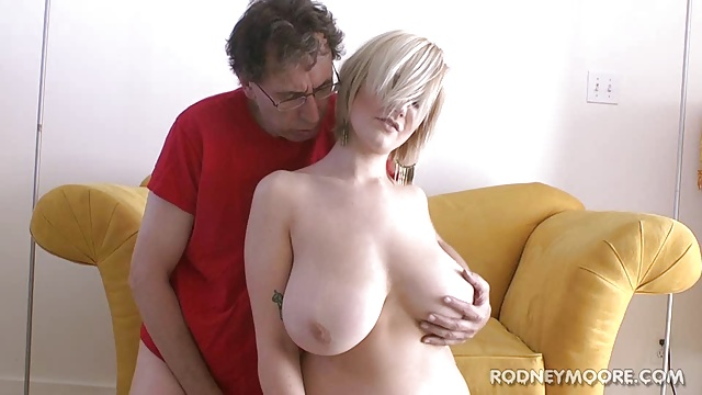 Siri Ample Melons Light-haired Swimsuit Youthful Lush Nail And Facial Cumshot