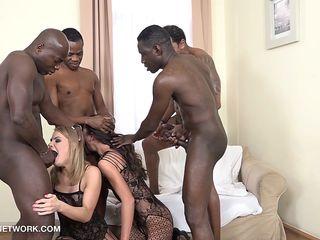 Dual Ass Fucking Dual Invasion Gang Gang-bang Multiracial