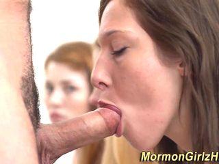 Mormon Gang Spunk Happy