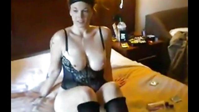 Huge-boobed Trampy Wifey Gang Fuck-fest Soiree
