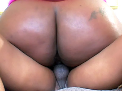 Bodacious Dark-hued Bbw Polishes On A Fuck-stick