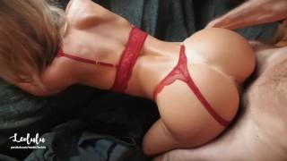 Super-hot Stunning Gf In Crimson Undergarments Drill & Splatters!! Fledgling Duo Leolulu
