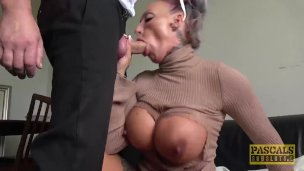 Pascalssubsluts – Big-titted Uk Brooke Jameson Tough Pulverized By Means Of Pascal