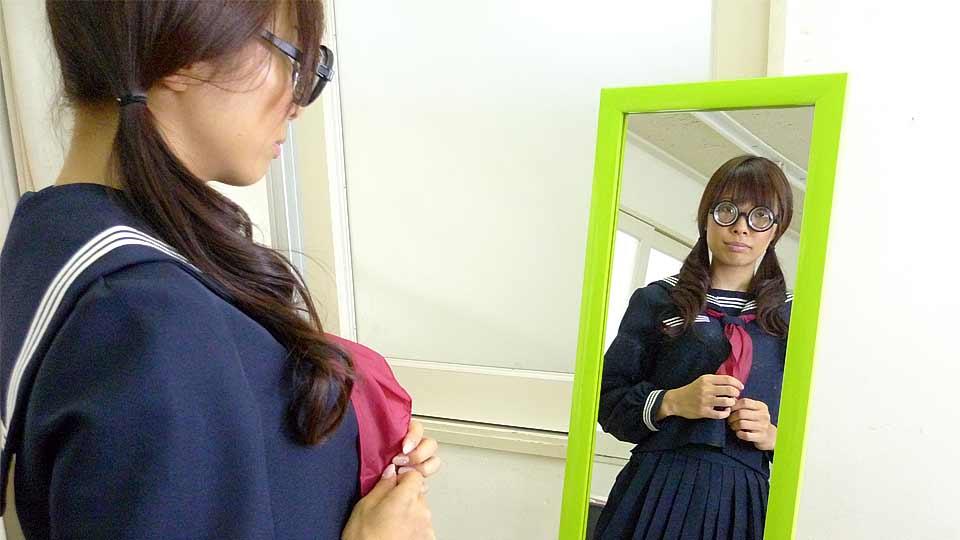 Azusa Misaki In Uniform Poked At College