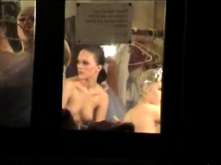 Spying Damsels – Bare Ballet Behind The Curtain Undercover Agent Webcam